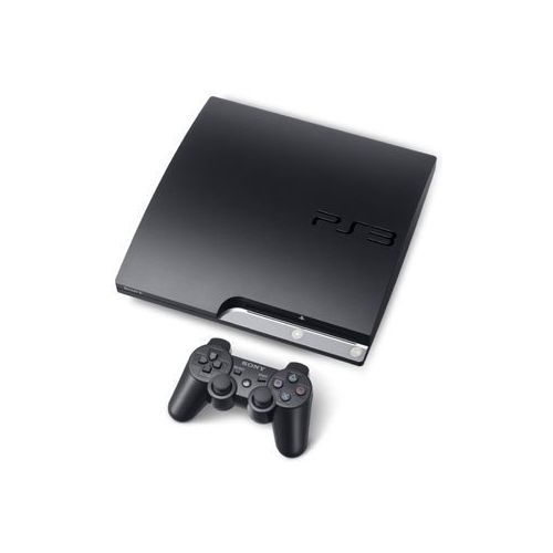 SONY PS3 SLIM 500GB+2 PAD CONTROLLERS+20GAMES+