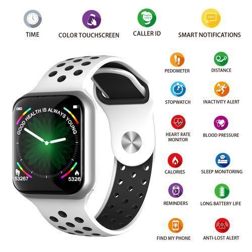 """F8 Smart Bracelets 1.3"""" Screen Smart Watch BT4.0 IP67 Water"""