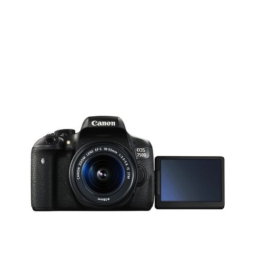 EOS 750D/T6i Digital SLR Camera With 18-55mm Zoom Lens + Free Memory Card