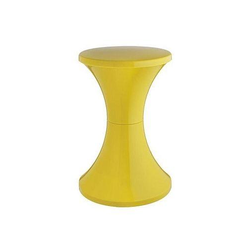 Universal Stylish Plastic Stool-Yellow