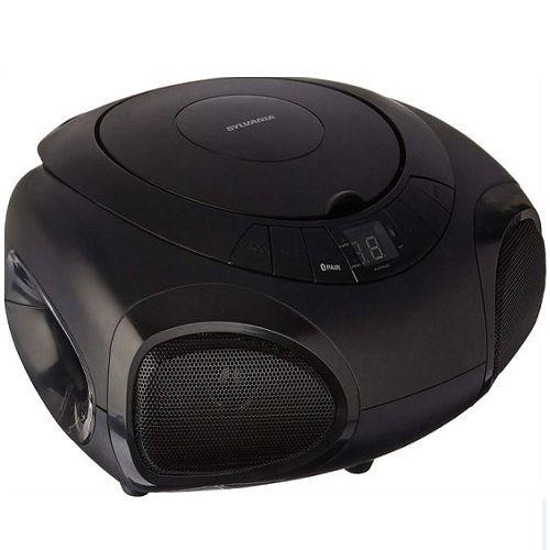 Bluetooth Portable Cd Radio BoomBox.