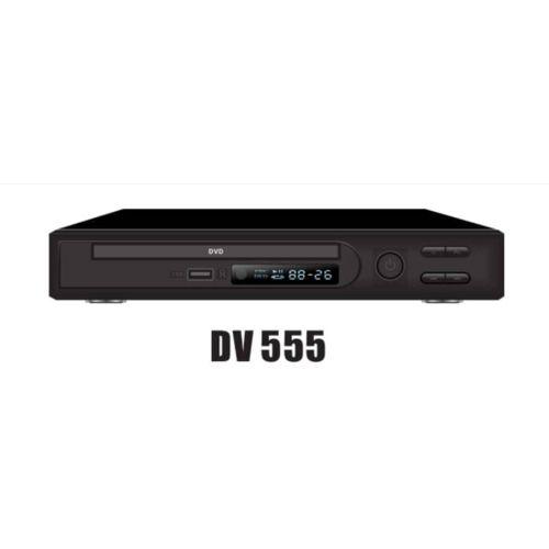 DVD Player DV555 With USB-Black