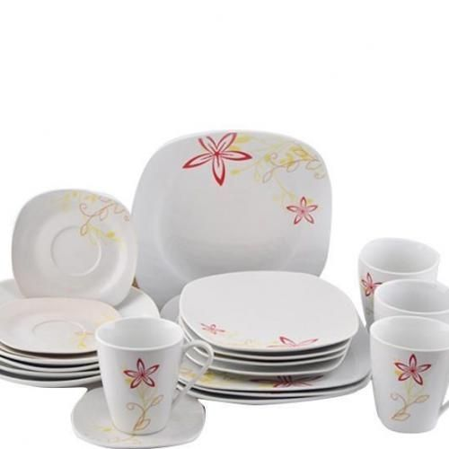 20 Pieces Square Dinner Set