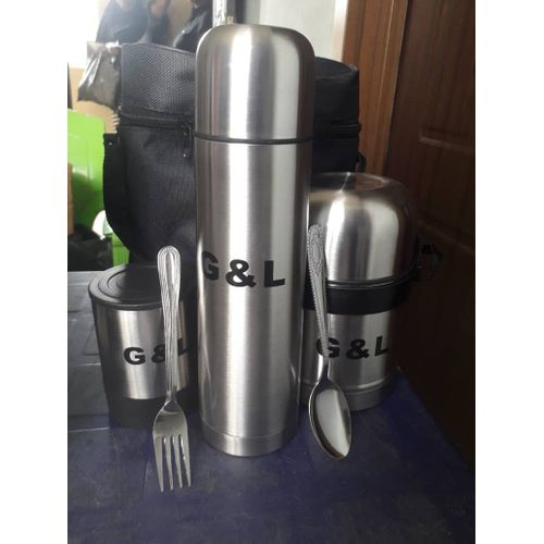 5 In 1 Stainless Food Flask