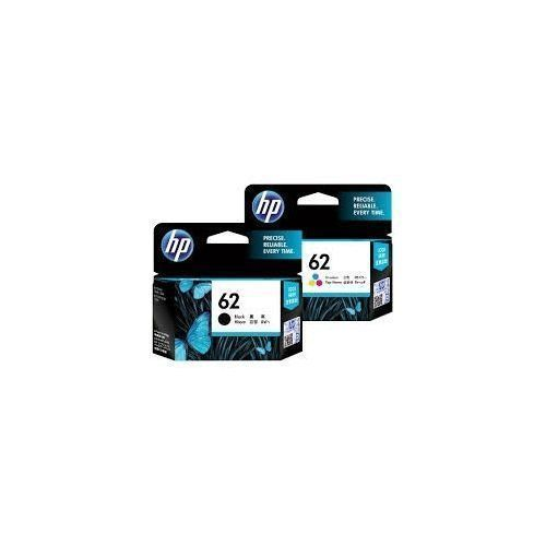 Genuine 62 Ink Cartridge -Black + Tri-colour