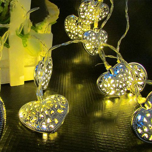 Mising 2M 20 LED 3*AA Battery LED Fairy Lights Decoration Lamp For Christmas Party