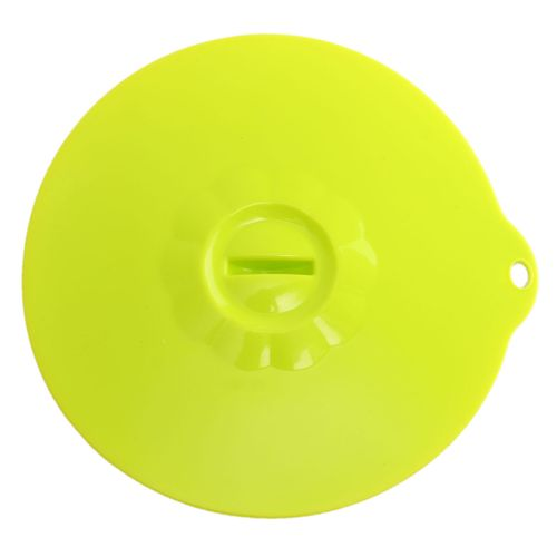 Silicone Seal Lid Anti-dust Glass Microwave Bowl Cup Leakproof Suction Cover Non-toxic Green