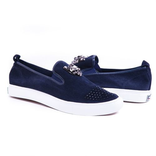 Men's Fashion Shoe Sneakers Navy Blue