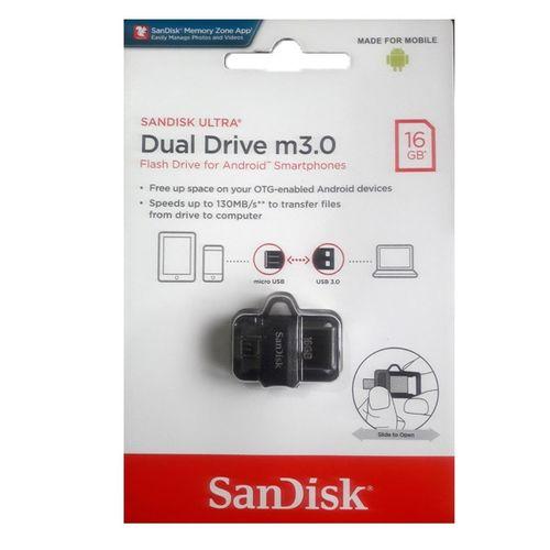 16GB Ultra OTG Dual USB Flash Drive