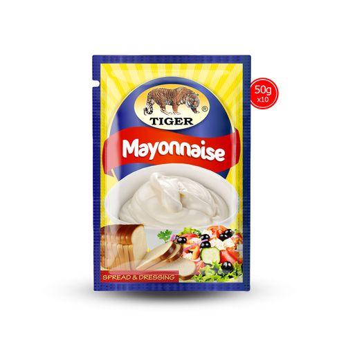 Mayonnaise Sachet 50g X 10