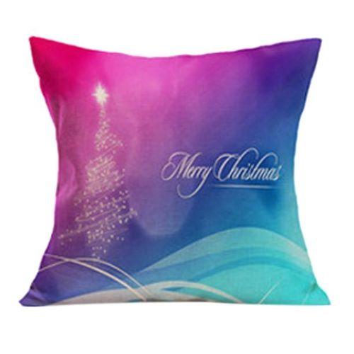 Christmas Sofa Bed Home Decor Pillow Case Cushion Cover