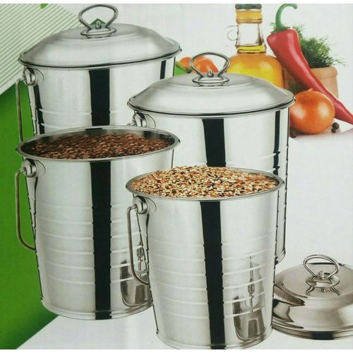 4Piece Universal High Quality Stainless Steel Ice Bucket