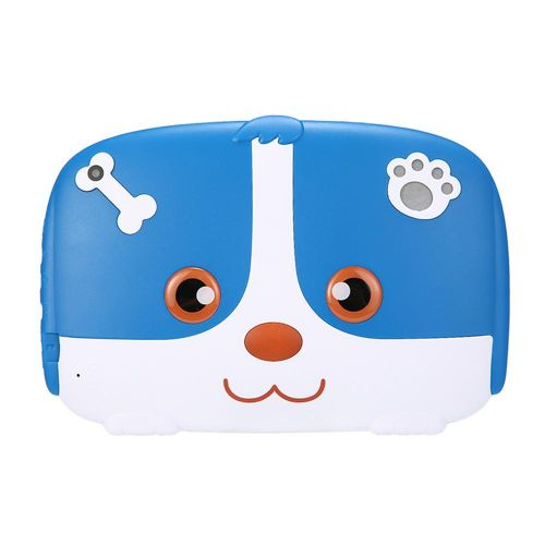 "7"" Portable HD Kids Tablet, Children Learning Pad With Kid-Proof Silicone Case"