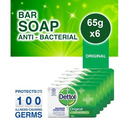 Anti-bacterial Soap - 65g (Pack Of 6)