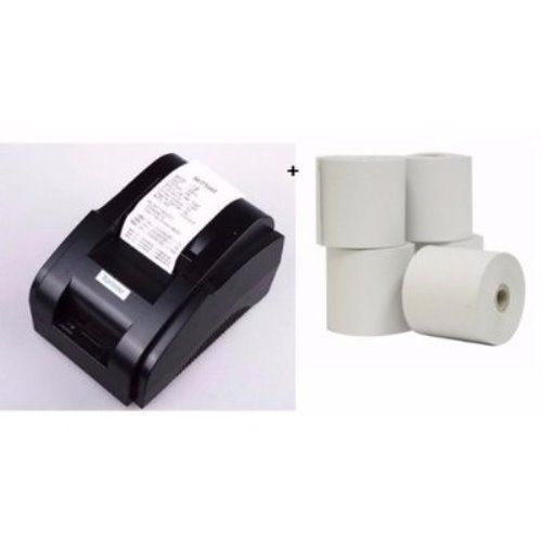 58mm Thermal Receipt POS Printer + 5 Rolls Paper