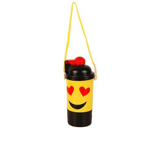 Emoji Love Eyes Water Bottle - Multi
