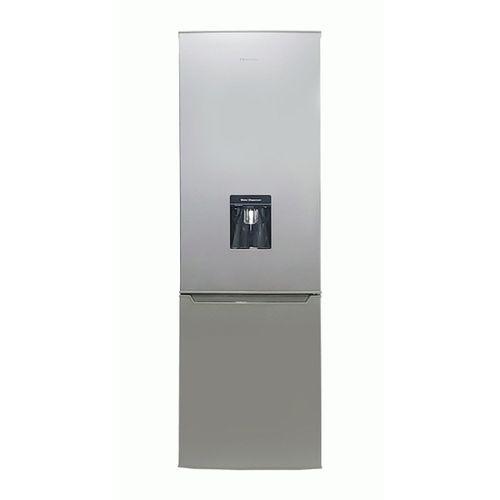 264 Litres Refrigerator With Bottom Freezer & Water Dispenser -Silver