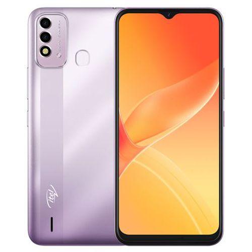 """P37 6.5"""" HD+ Screen, 2GB RAM + 32GB ROM, 5000mAh Battery, Android 10, 8MP Dual Rear Camera, Fingerprint, Face ID -Purple"""