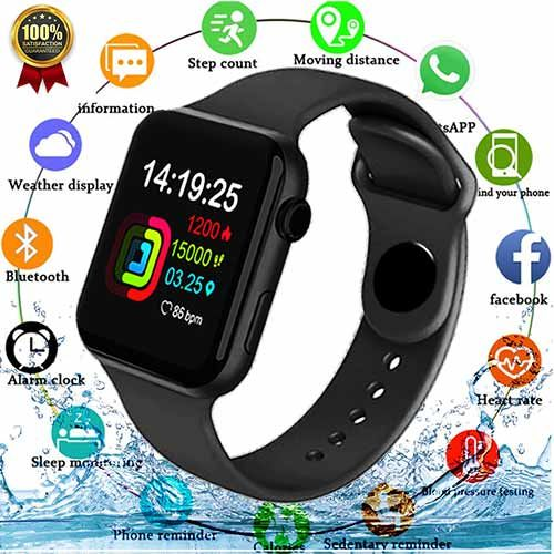 Smart Watch Waterproof Heart Rate Sports Watch For Android&iOS