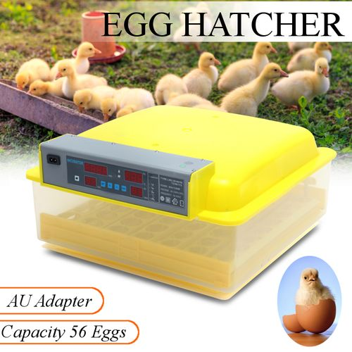 56 Egg Incubator Hatcher With Eight Pieces Accessories
