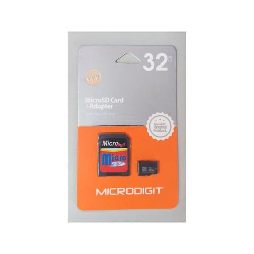 32GB Memory Card And Adapter