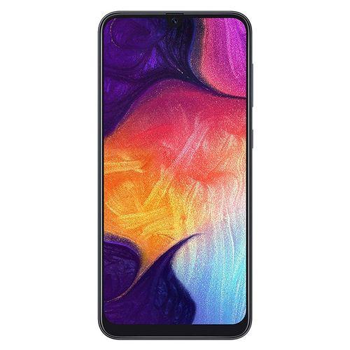 Galaxy A50 6.4-Inch (4GB,128GB ROM) Android 9 Pie, (25MP+5MP+ 8MP)+ 25MP 4000mAh 4G Smartphone - Black