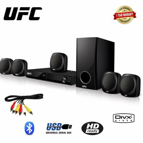 UFC Bluthoot Home Theater System Black