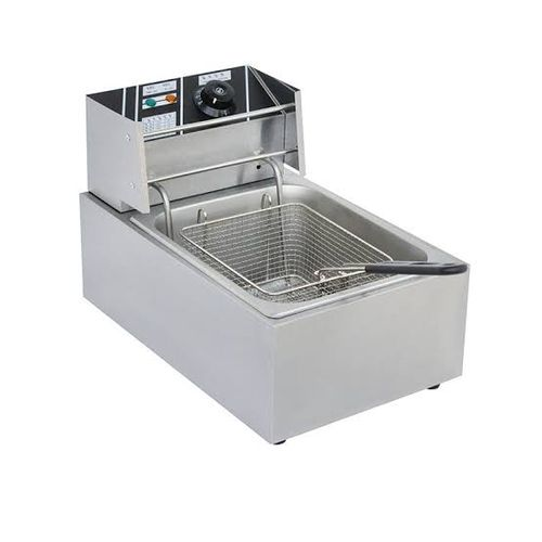 Nima Commercial 6L Electric Deep Fryer -Stainless Steel