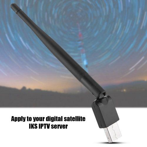 Wireless USB WiFi Antenna For Freesat V8 Series Satellite Receiver GW