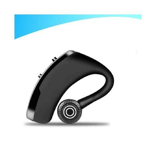 V9 Wireless Bluetooth Earphone Earpiece With MIC- Black