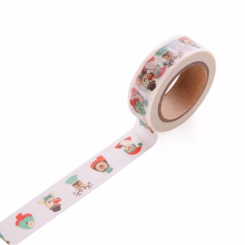 Selling Through The Source And Paper Tape Santa Claus Socks Tape Color Decorative Stickers