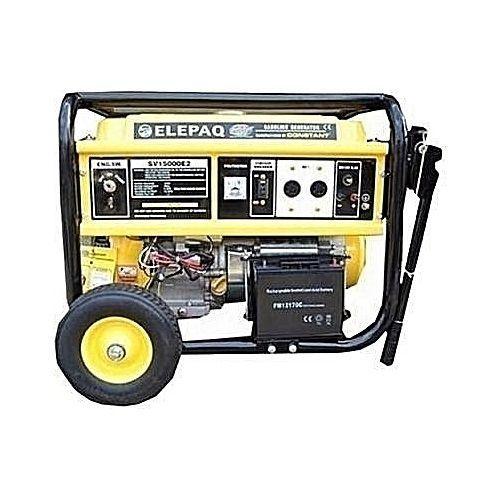 Elepaq 12kva Petrol Generator With Key Starter