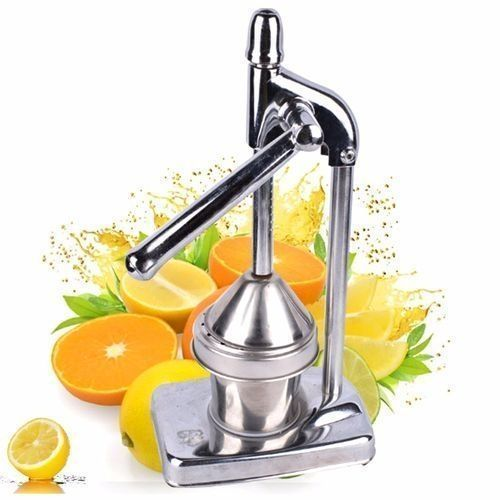 New Manual Press Orange Citrus Juicer Juice Extractor Stainless Steel Heavy Duty
