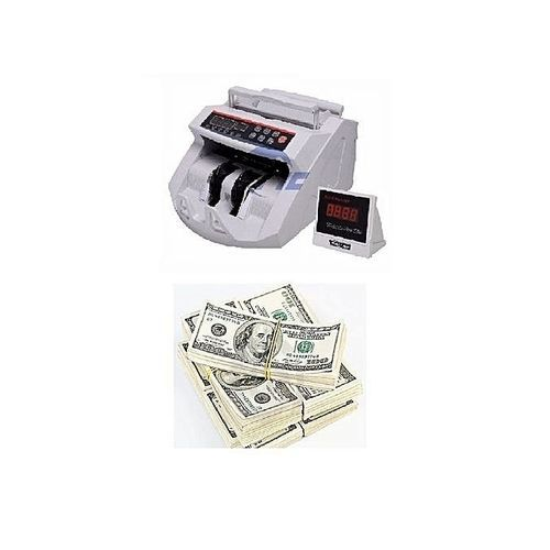 NOTE DETECTOR - COUNTING MACHINE WITH AUTOMATIC COUNTERFEIT