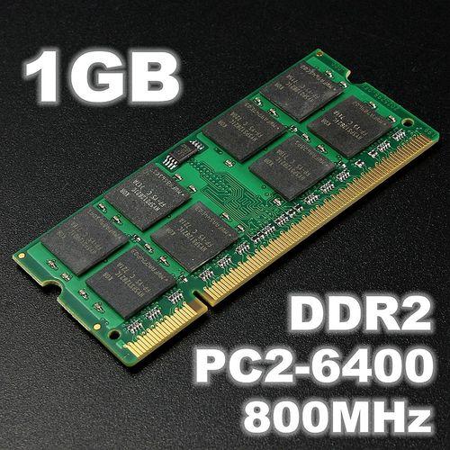 1GB (1x1GB) DDR2 800MHz PC2-6400 Non-ECC DIMM Memory RAM 200 Pins For Laptop PC