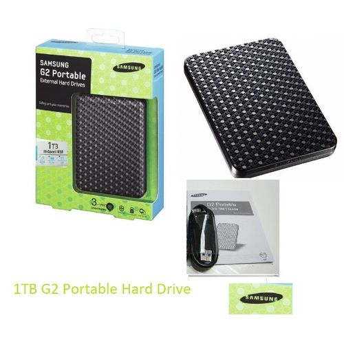 1tb G2 Portable External Hard Drive