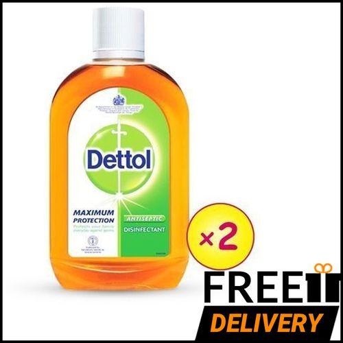 Antiseptic Liquid Disinfectant 500ml X 2