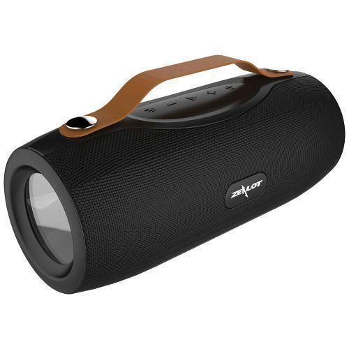 S29 Portable Bluetooth Speaker Fm Radio Outdoor Bass Wireless Speaker+Power Bank+Flashlight,Support TF Card,U Disk