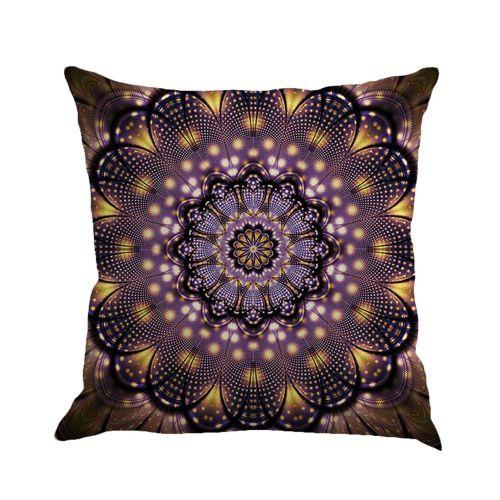 Schoolcool Geometry Painting Linen Cushion Cover Throw Pillow Case Sofa Home Decor C