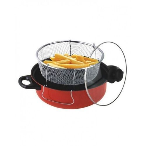 Quality Manual Deep Fryer And Steamer 26cm