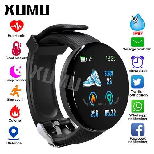 Xumu Bluetooth Smart Watch Men Round Smartwatch Women Watch Waterproof Sport Tracker Call Reminder Push Message WhatsApp For Android IPhone