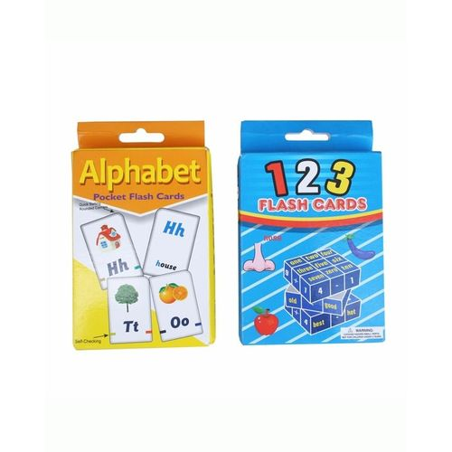 123 And Alphabet Flash Cards