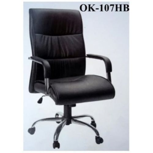 High Quality Leather Director Office Chair-(Z107X)Black