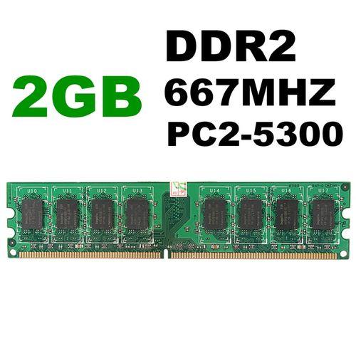 New 2G 2GB PC2 5300 DDR2 667 MHZ 240 PIN DESKTOP MEMORY RAM FIT INTEL & AMD CPU