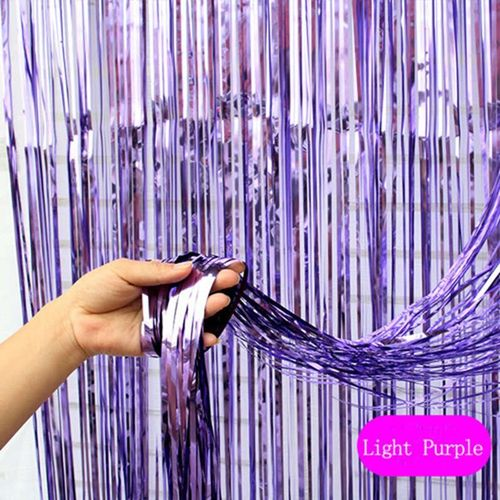 2m3m Wedding Backdrop Tinsel Curtain Photo Booth Backdrop