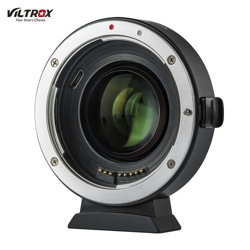 VILTROX Viltrox EF-EOS M2 Auto Focus Lens Mount Adapter Ring 0.71X Focal Lenth Multiplier USB Upgrade For EF Series Lens To EOS EF-M Mirrorless Camera For EOS M/ M2/ M3/ M5/ M6/ M10/ M50/ M100