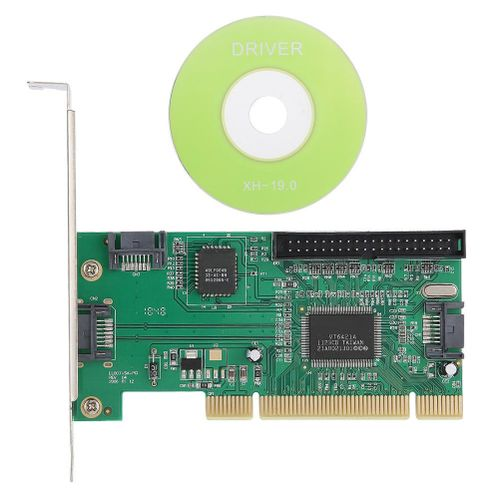 IDA Adapter SATA Adapter For PCI Vertical Card, ASHATA Adapter Adapter For SATA + IDE SATA + Vertical Card For Laptop