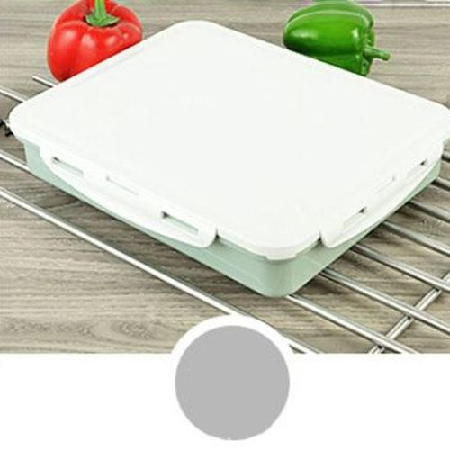 High-capacity Stainless Steel Thermo Bento Lunch Boxs Japanese Food Box Insulated Lunchbox Thermal School Food Container#Blue Four