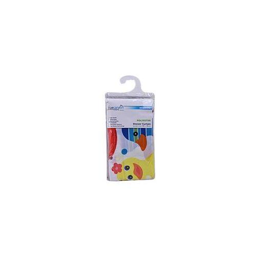 Textile Shower Curtain - Multicoloured