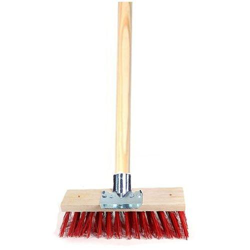 Heavy Duty Tiles Interlock Floor Brush Broom + Strong Handle